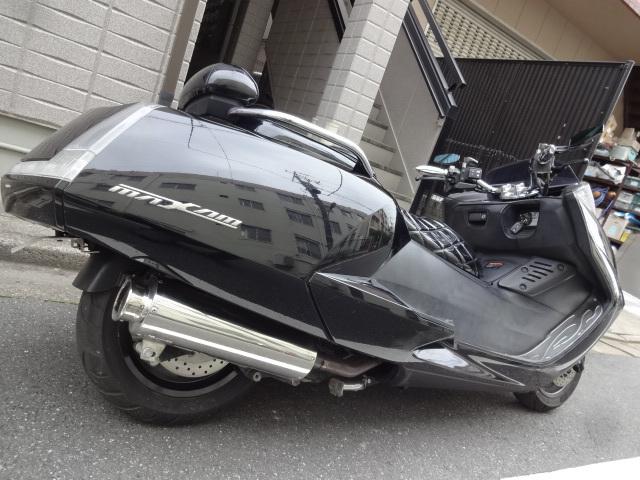 「マグザム250 SG17J 黒 カスタム車 Y,sギアオーディオ ローダウン HID」の画像3