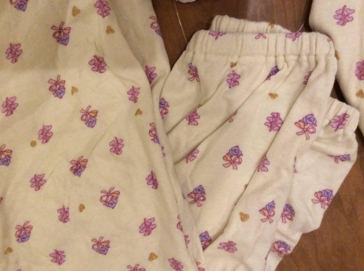ワコール「ツモリチサト」大人気ジャガード素材パジャマ花柄?M_画像3