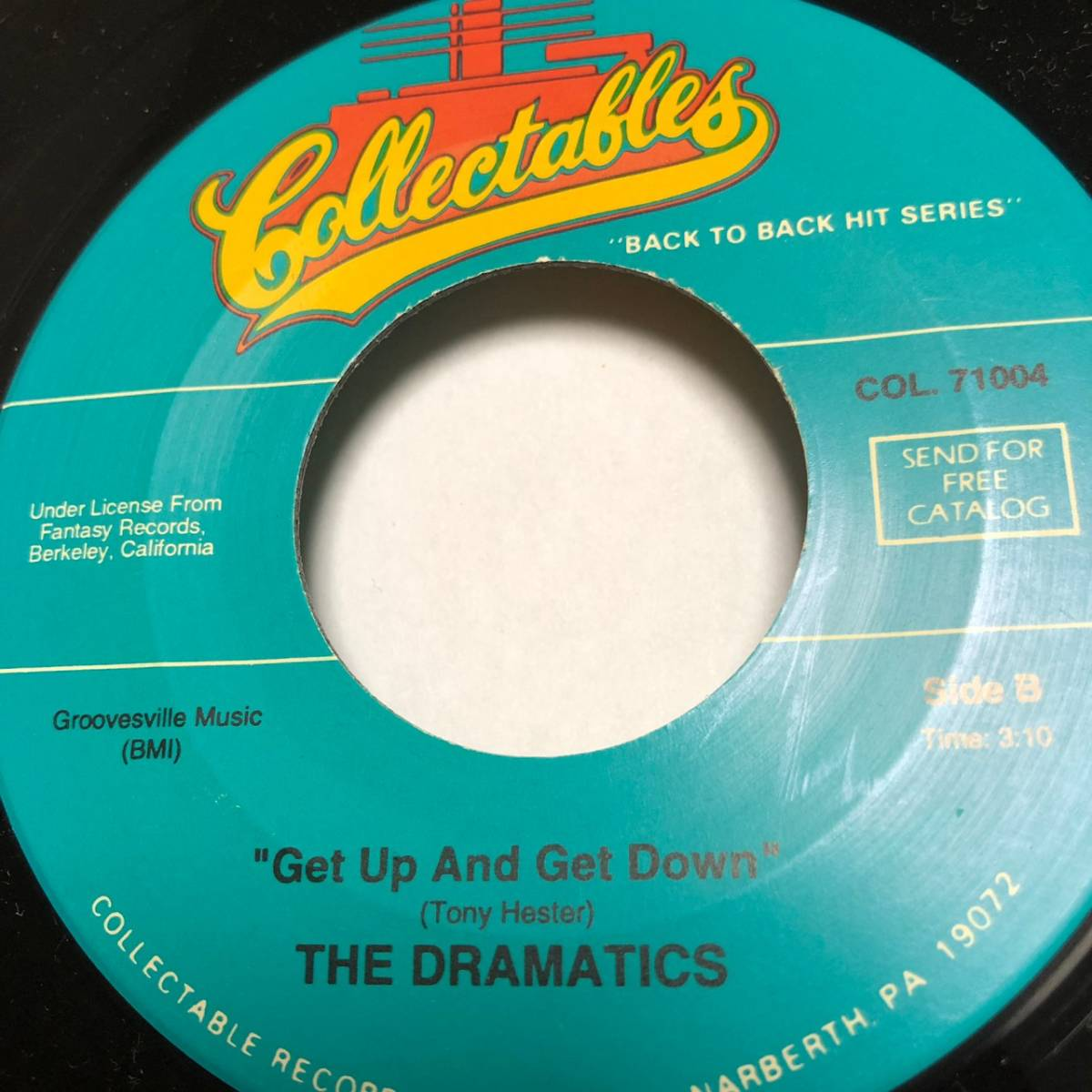 THE DRAMATICS / WHATCHA SEE IS WHATCHA GET / 7インチ_画像3