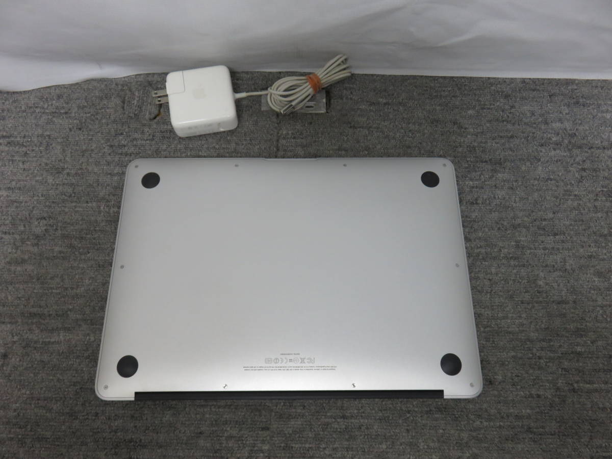 MacBook Air A1369 ◆高速 1.86GHz / 4GB / 高速SSD 128GB ◆ 13.3型 ◆ macOS 10.13. 6◆他の&Office付き◆中古美品◆充放電47回_画像6