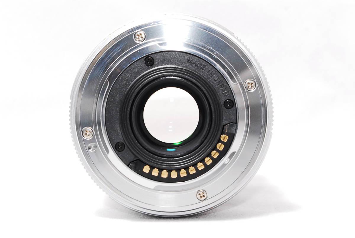 ◆並品◆ オリンパス OLYMPUS M.ZUIKO DIGITAL 25mm F1.8 レンズ 単焦点 シルバー ★動作確認済み★ 動作不具合なし_画像6