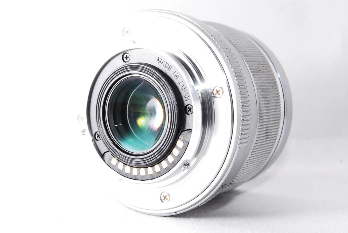 ◆並品◆ オリンパス OLYMPUS M.ZUIKO DIGITAL 25mm F1.8 レンズ 単焦点 シルバー ★動作確認済み★ 動作不具合なし_画像5
