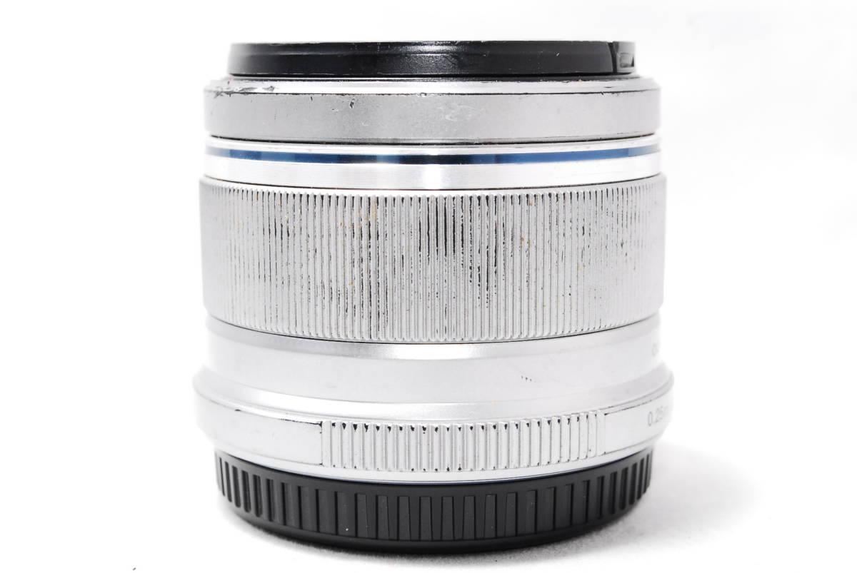 ◆並品◆ オリンパス OLYMPUS M.ZUIKO DIGITAL 25mm F1.8 レンズ 単焦点 シルバー ★動作確認済み★ 動作不具合なし_画像8