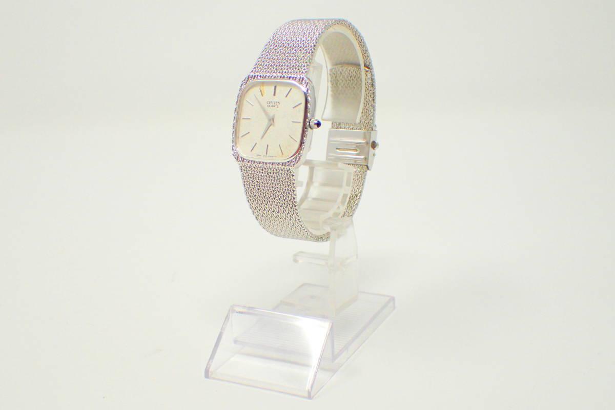 ●CITIZEN 2720 EXCEED 腕時計 シチズン 美品 徹底洗浄 訳アリ_画像3