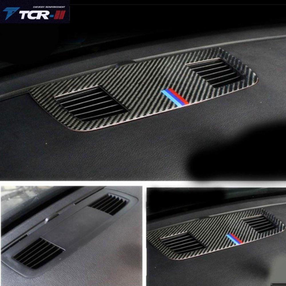 車 外装 for BMW E90 3 series accessories Carbon Fiber Outlet decorative panel air condition 送料無料_画像1