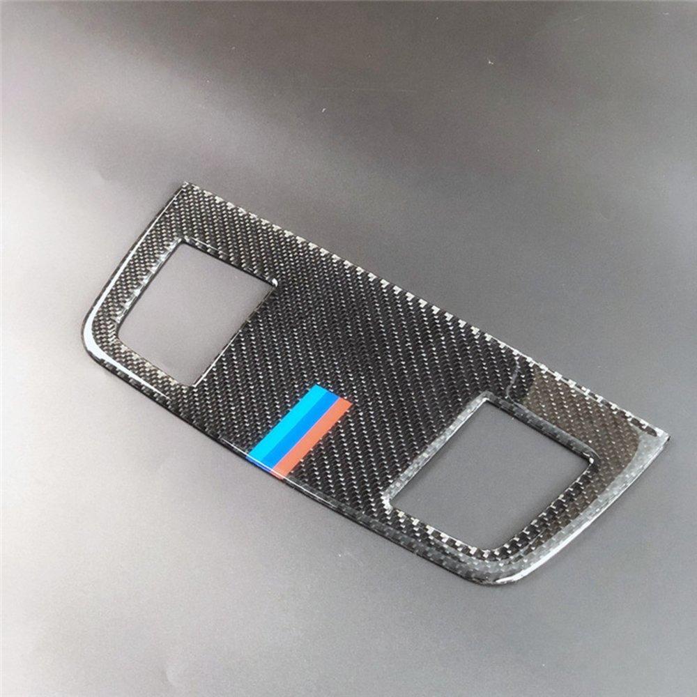 車 外装 for BMW E90 3 series accessories Carbon Fiber Outlet decorative panel air condition 送料無料_画像2