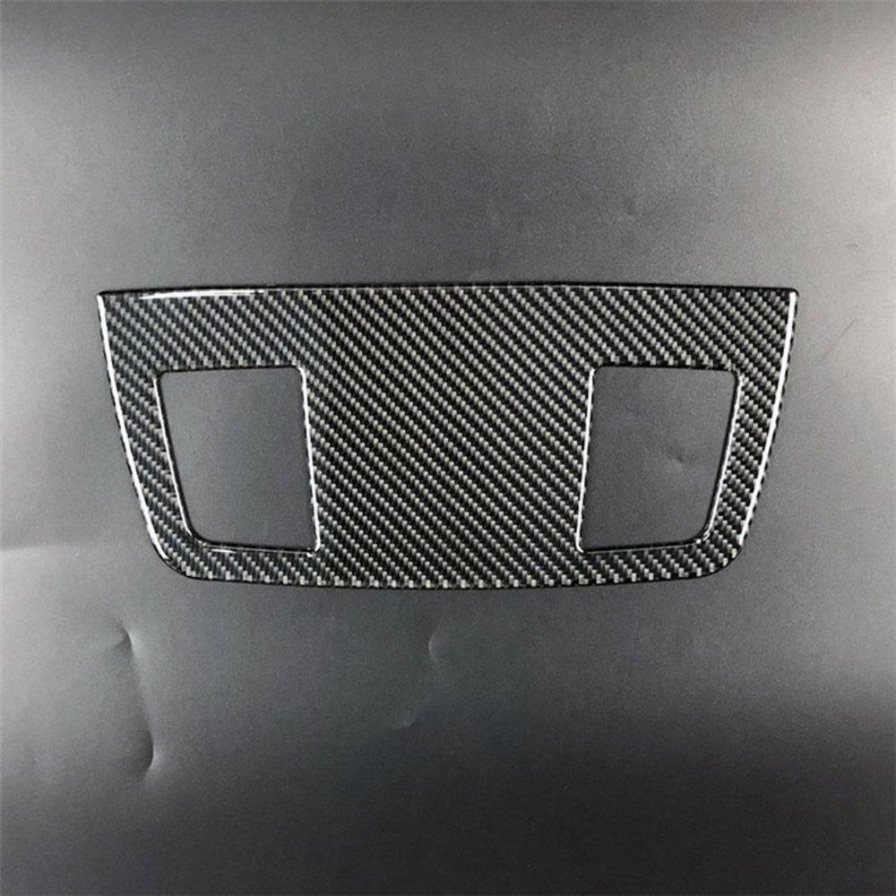車 外装 for BMW E90 3 series accessories Carbon Fiber Outlet decorative panel air condition 送料無料_画像6