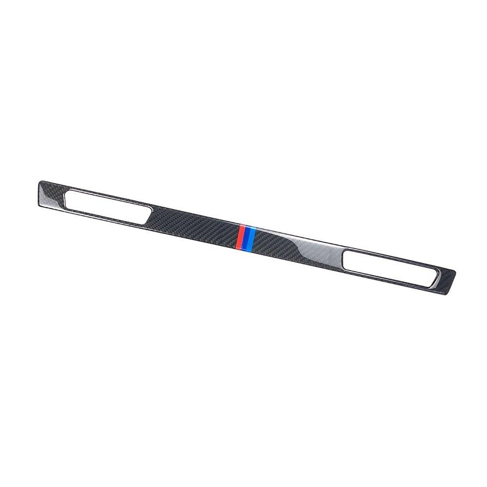 車 外装 For BMW E90 E92 E93 E93 3 Series Carbon Fiber Pilot Pilot Water Cup Holder Panel Dec 送料無料_画像5