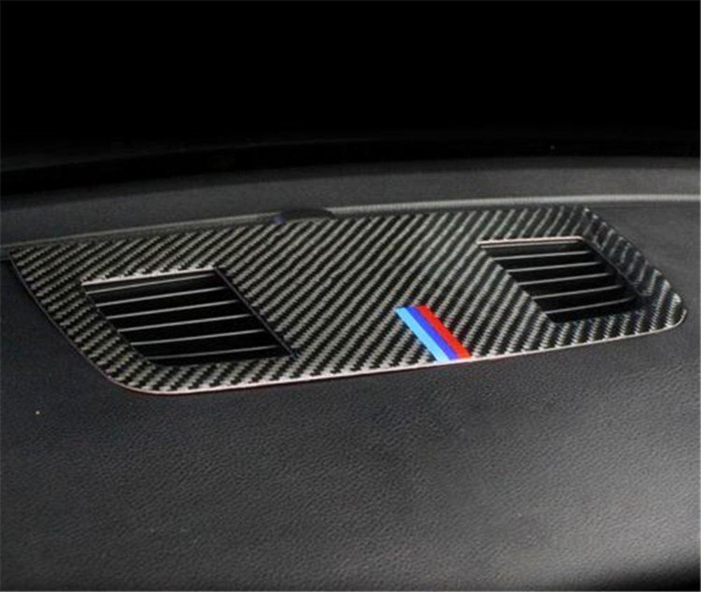 車 外装 for BMW E90 3 series accessories Carbon Fiber Outlet decorative panel air condition 送料無料_画像4
