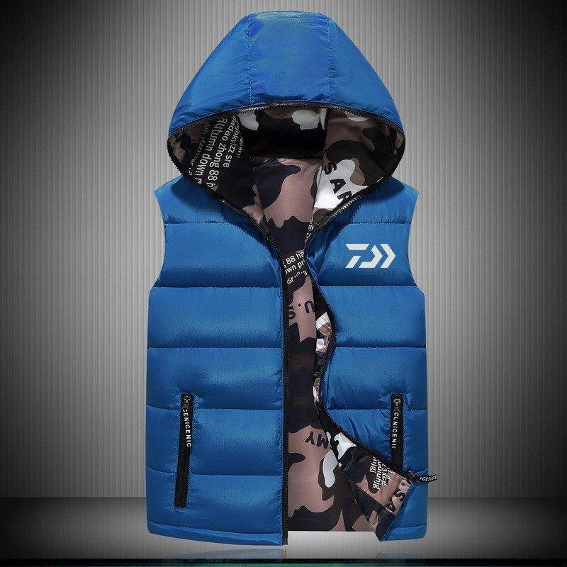 2018 New DAIWA 釣り Vest アウトドア Sport Plus Size メンズ 釣り Jackets Autumn Winter Keep 送料無料_画像4