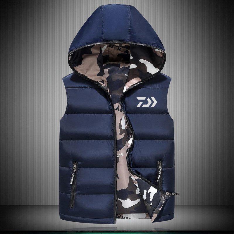 2018 New DAIWA 釣り Vest アウトドア Sport Plus Size メンズ 釣り Jackets Autumn Winter Keep 送料無料_画像5