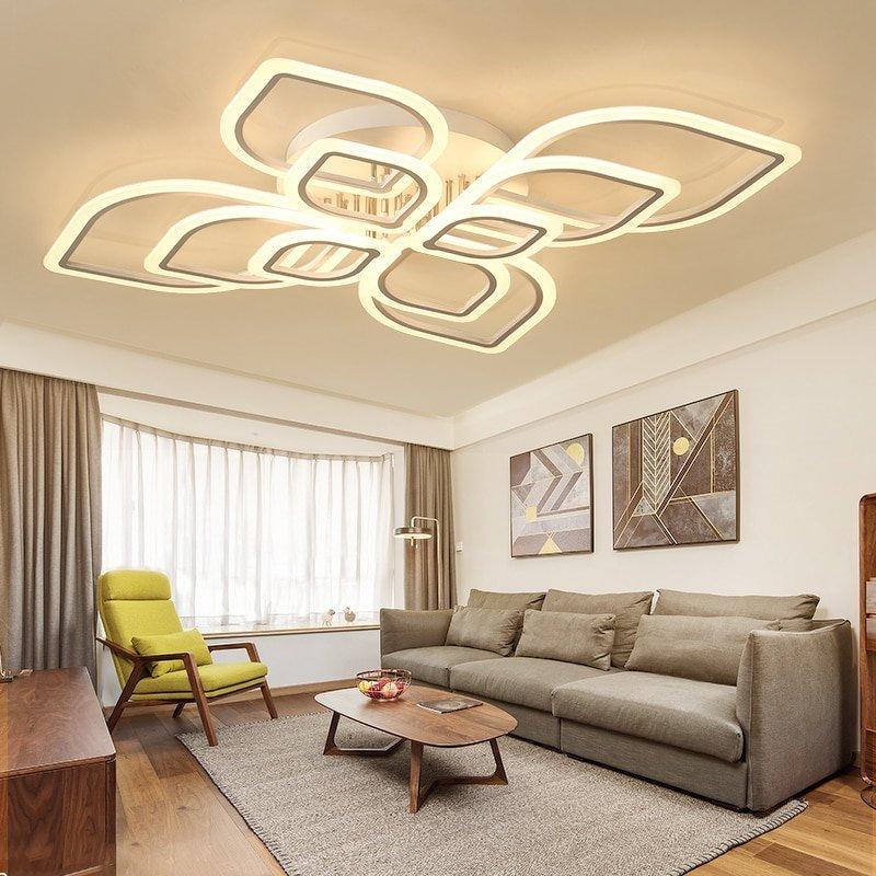 シーリングライト 天井照明 間接照明 リビングルーム ベッドルーム ダイニングルーム モダン タイプ549 送料無料_画像2