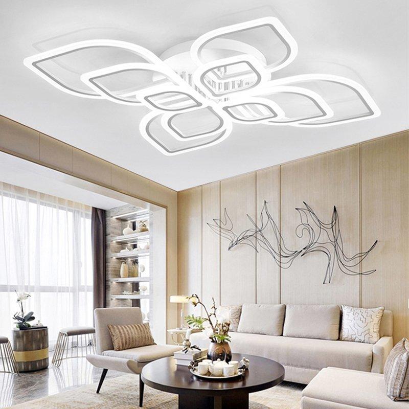 シーリングライト 天井照明 間接照明 リビングルーム ベッドルーム ダイニングルーム モダン タイプ549 送料無料_画像3