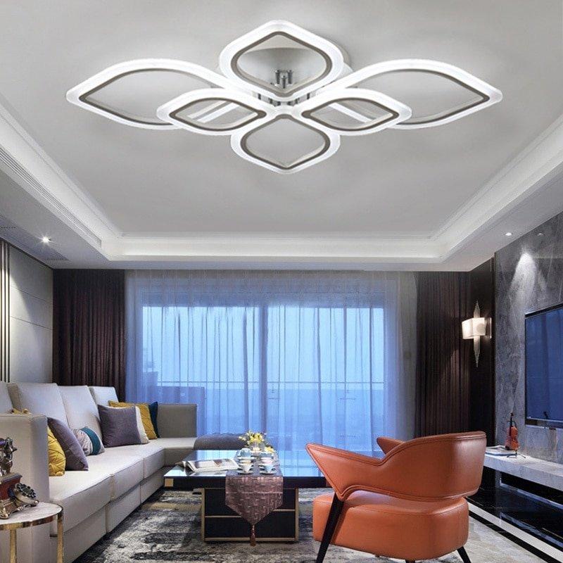 シーリングライト 天井照明 間接照明 リビングルーム ベッドルーム ダイニングルーム モダン タイプ549 送料無料