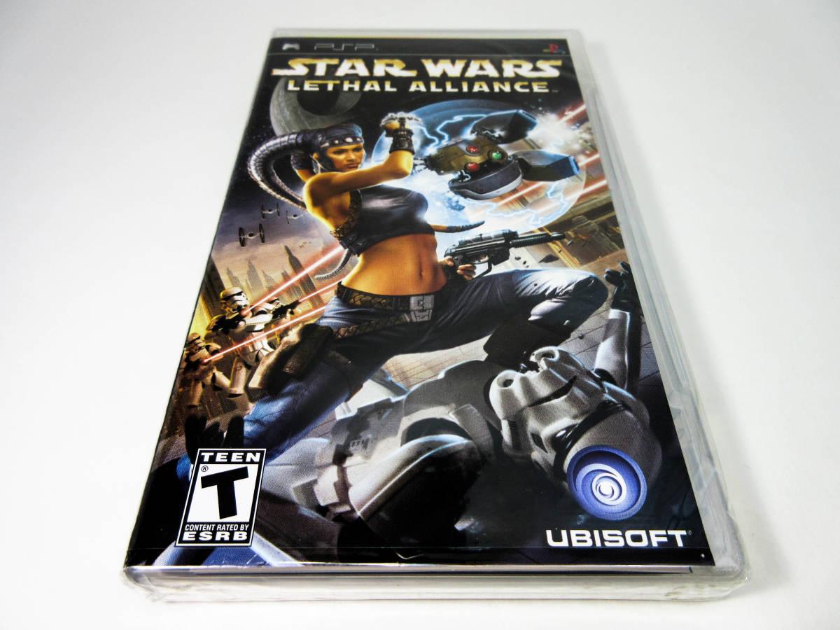 【新品未開封】【日本未発売 北米版 PSP】Star Wars Lethal Alliance スターウォーズ: リーサル アライアンス【日本のPSP本体で動作可】_画像1