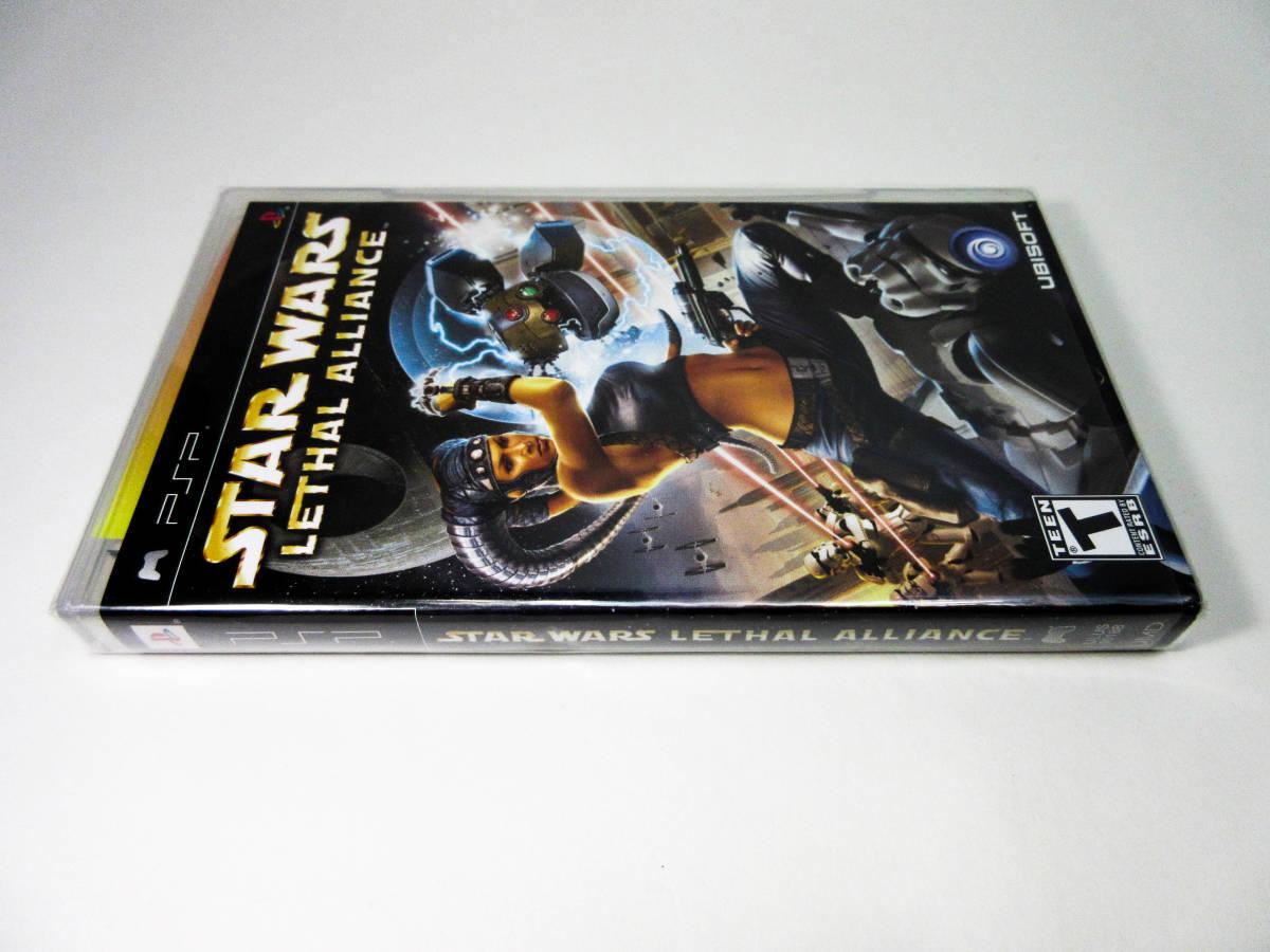 【新品未開封】【日本未発売 北米版 PSP】Star Wars Lethal Alliance スターウォーズ: リーサル アライアンス【日本のPSP本体で動作可】_画像3