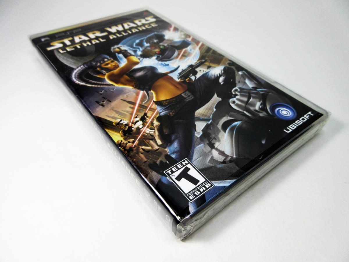 【新品未開封】【日本未発売 北米版 PSP】Star Wars Lethal Alliance スターウォーズ: リーサル アライアンス【日本のPSP本体で動作可】_画像5