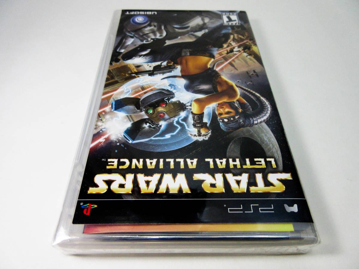 【新品未開封】【日本未発売 北米版 PSP】Star Wars Lethal Alliance スターウォーズ: リーサル アライアンス【日本のPSP本体で動作可】_画像7