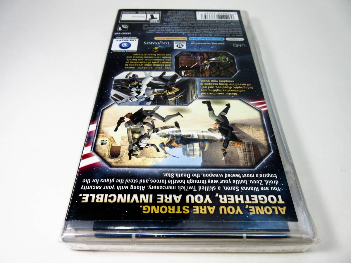 【新品未開封】【日本未発売 北米版 PSP】Star Wars Lethal Alliance スターウォーズ: リーサル アライアンス【日本のPSP本体で動作可】_画像8