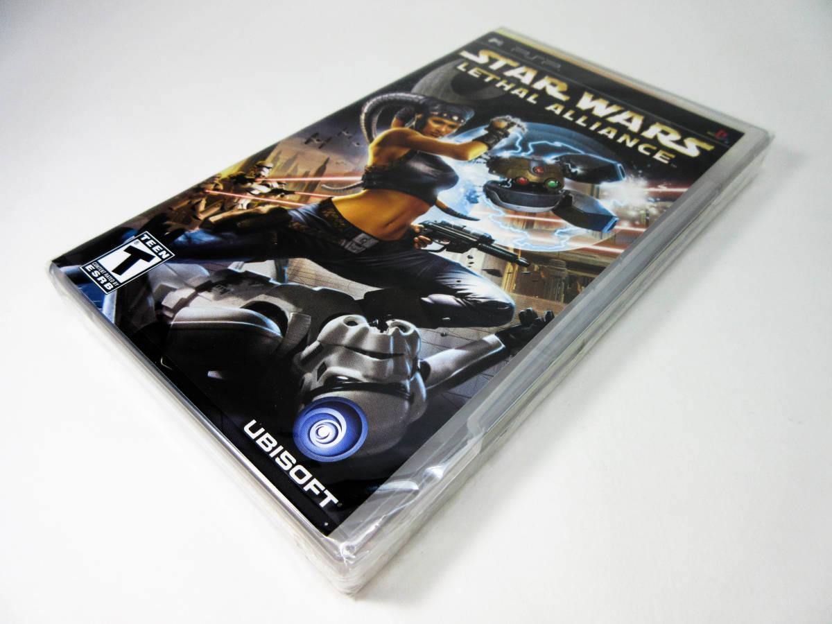 【新品未開封】【日本未発売 北米版 PSP】Star Wars Lethal Alliance スターウォーズ: リーサル アライアンス【日本のPSP本体で動作可】_画像10