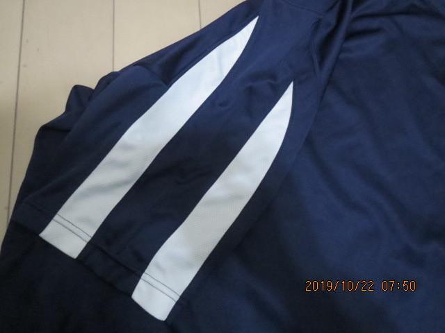 【送料無料】asics アシックス 速乾Tシャツ 青M_画像6
