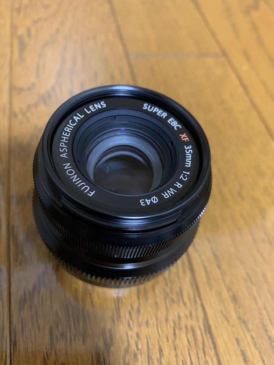 美品 フジフィルム XF35mm F2 R WR 単焦点 元箱付き FUJIFILM レンズフィルター付き_画像4