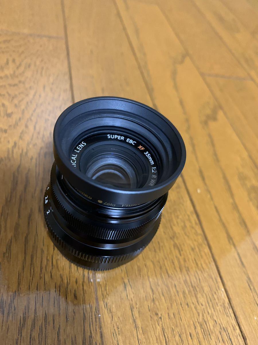 美品 フジフィルム XF35mm F2 R WR 単焦点 元箱付き FUJIFILM レンズフィルター付き_画像3