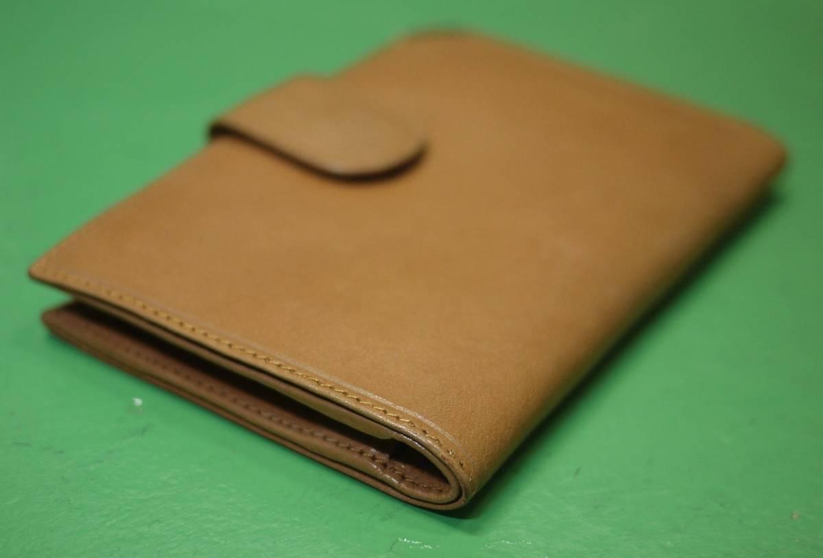 イタリア製 イサンティ i Santi 二つ折り財布 がま口 収納多数_画像4