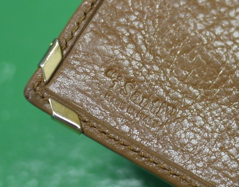 イタリア製 イサンティ i Santi 二つ折り財布 がま口 収納多数_画像10
