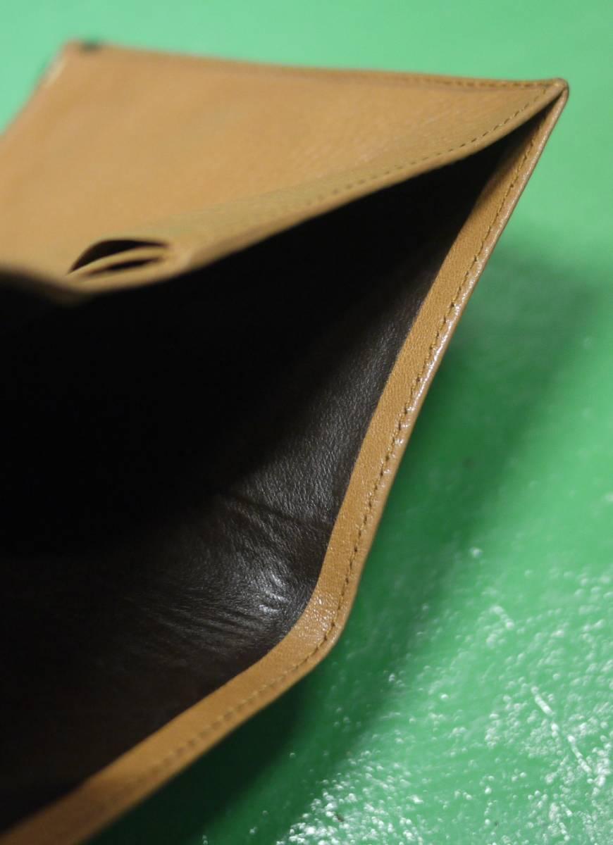 イタリア製 イサンティ i Santi 二つ折り財布 がま口 収納多数_画像8