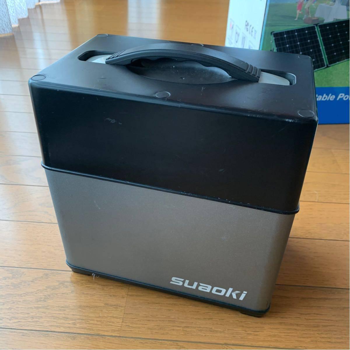 suaoki ポータブル電源 PS5B 400Wh 120000mAh ジャンク品_画像4