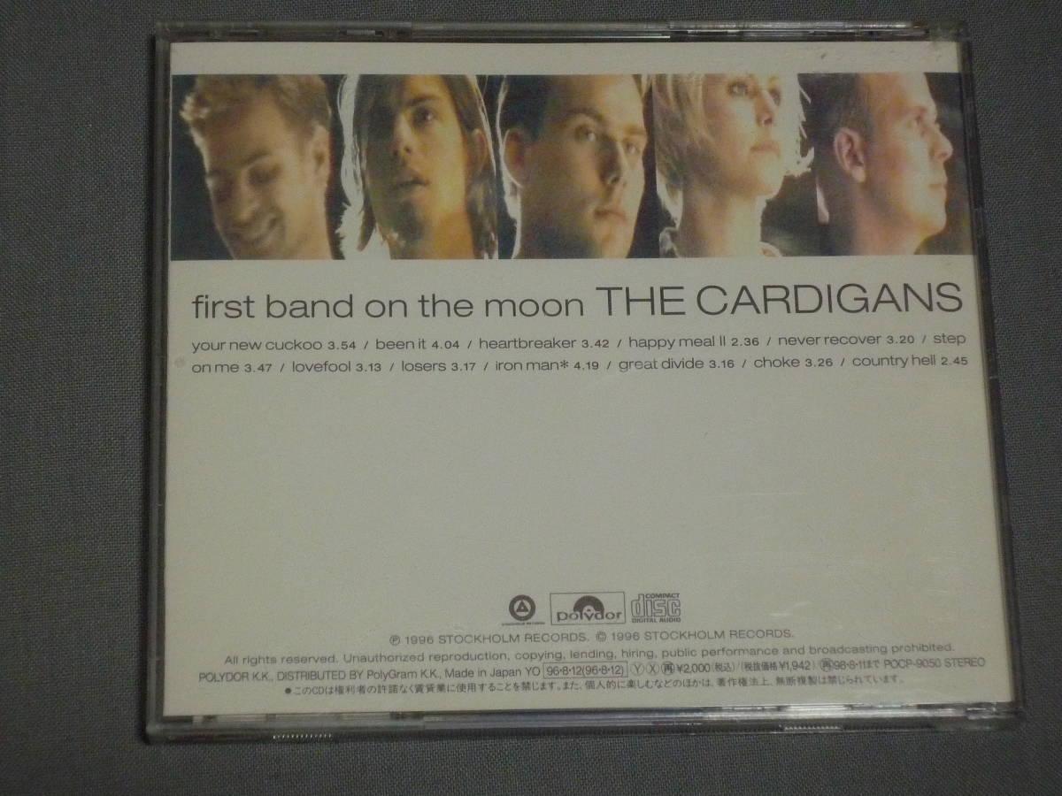 K30 カーディガンズ ファースト・バンド・オン・ザ・ムーン 帯付き [CD]_画像3