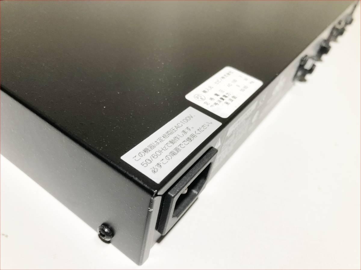dbx AFS224 中古動作品 国内正規品 ハウリングサプレッサー SN_00002061_画像8