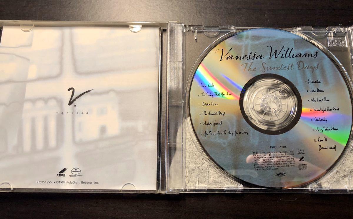 Vanessa Williams The Sweetest Days'94年 バネッサ・ウィリアムズ