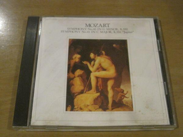 CD モーツァルト MOZART 交響曲第40番 K.550 交響曲第41番 K.551ジュピター コロンビア交響楽団 ブルーノ・ワルター_画像1