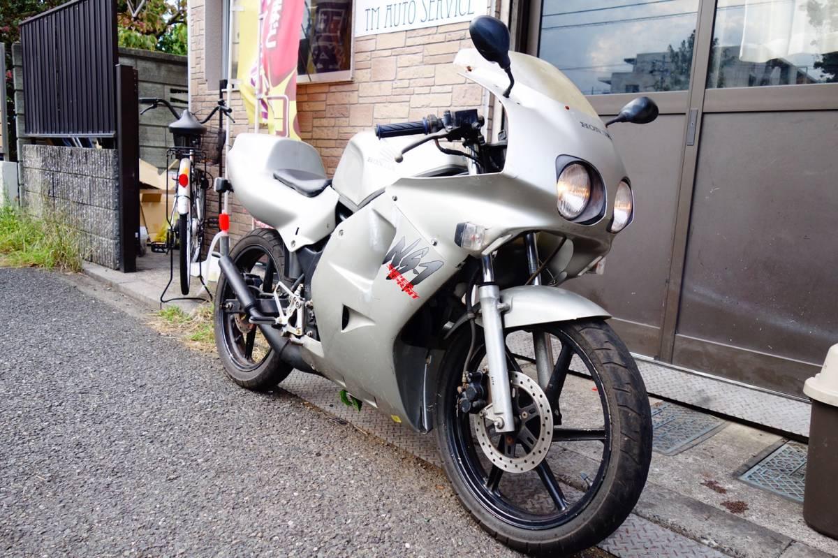 「☆即決関東配送料無料☆ AC12 ホンダ NS-1 フルカウル シルバー  関東以外も格安配送!」の画像1
