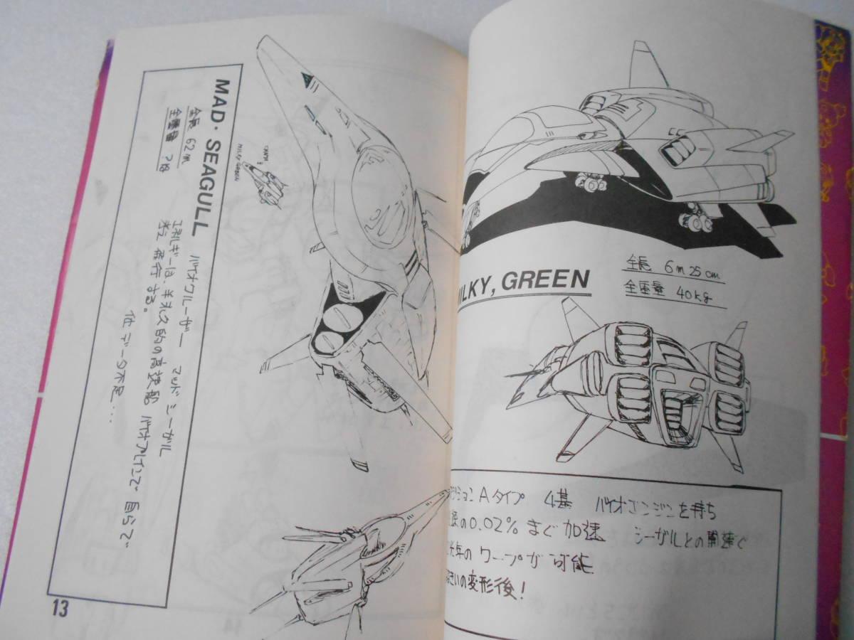 ちゃまちゃん フォトアルバム HOT SNAP 同人誌 1983年刊 / 表紙イラスト 森野うさぎ / 美少女とメカニック_画像4