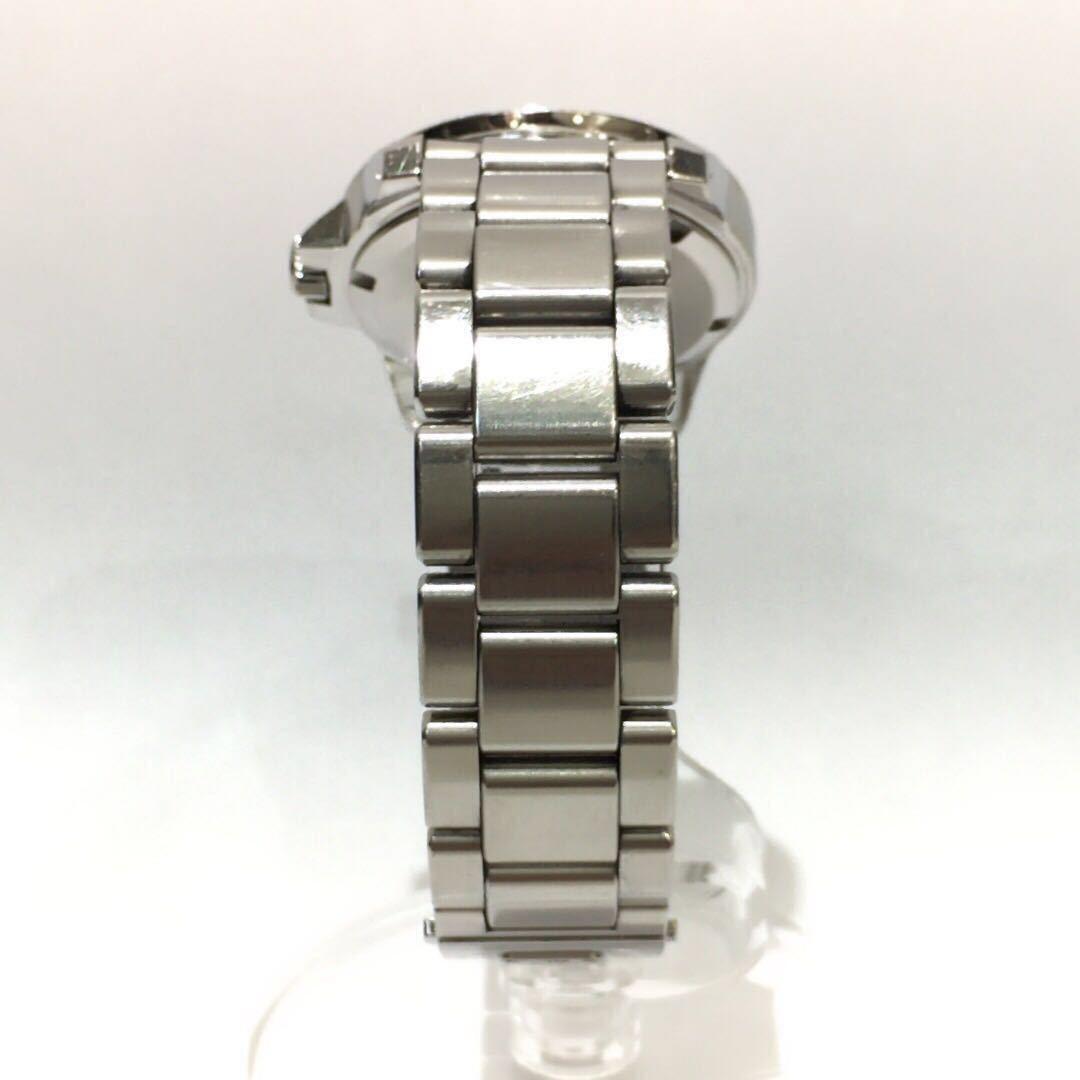 【SEIKO】グランドセイコー GRAND SEIKO GS クォーツ腕時計 SBGX055 9F62-0AA1 黒文字盤 シルバー ブラック 年差クォーツ ts1011_画像4