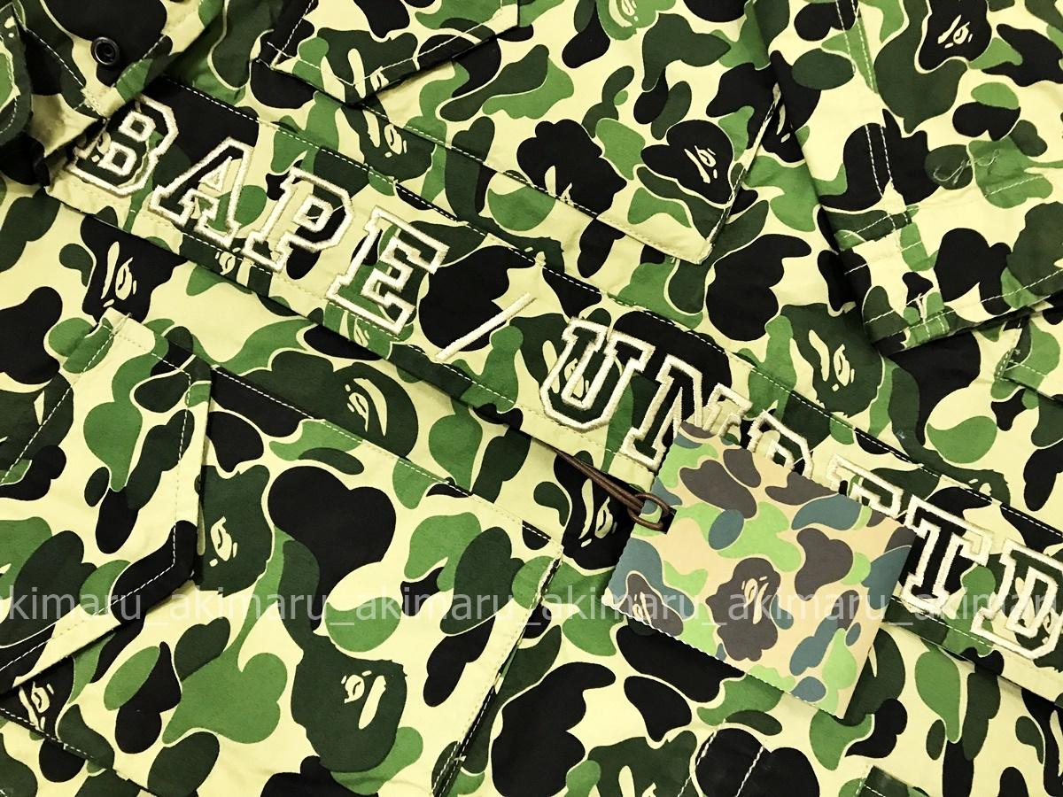 BAPE /A BATHING APE ベイプ・ア・ベイシング・エイプ×UNDEFEATED アンディフィーテッドABC M-65 ジャケット(M)_画像6
