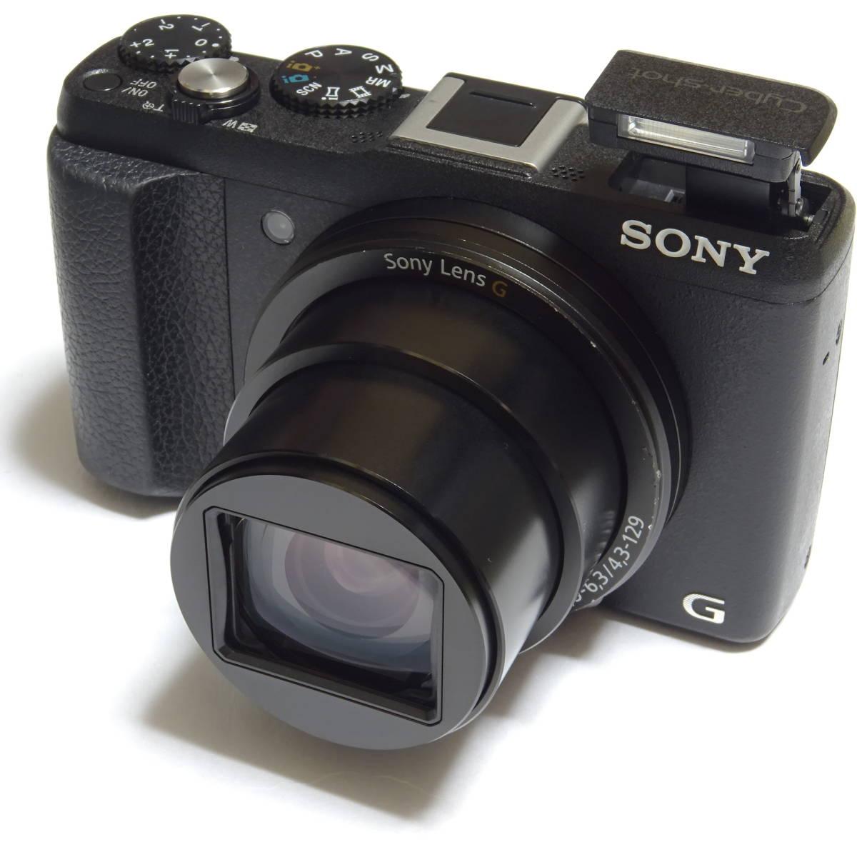 SONY Cyber-shot DSC-HX60V 2040万画素 光学30倍 Full HD 1080 60p 動画撮影 GPS Wi-Fi NFC 中古本体・箱・取説付き ☆動作品☆ 0899