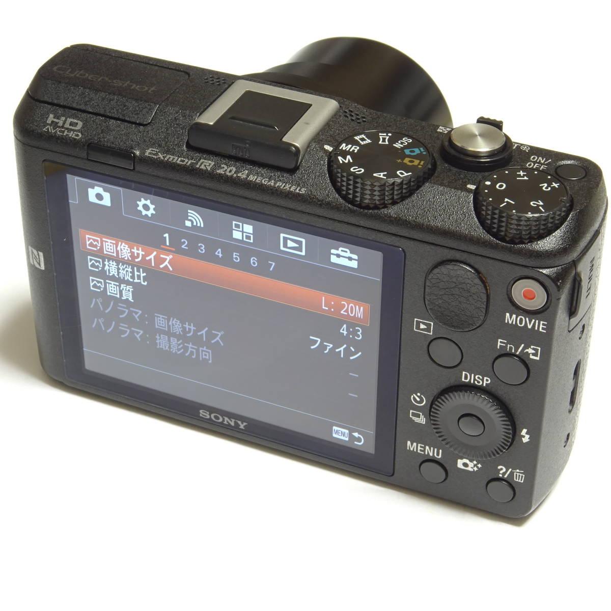 SONY Cyber-shot DSC-HX60V 2040万画素 光学30倍 Full HD 1080 60p 動画撮影 GPS Wi-Fi NFC 中古本体・箱・取説付き ☆動作品☆ 0899_画像2