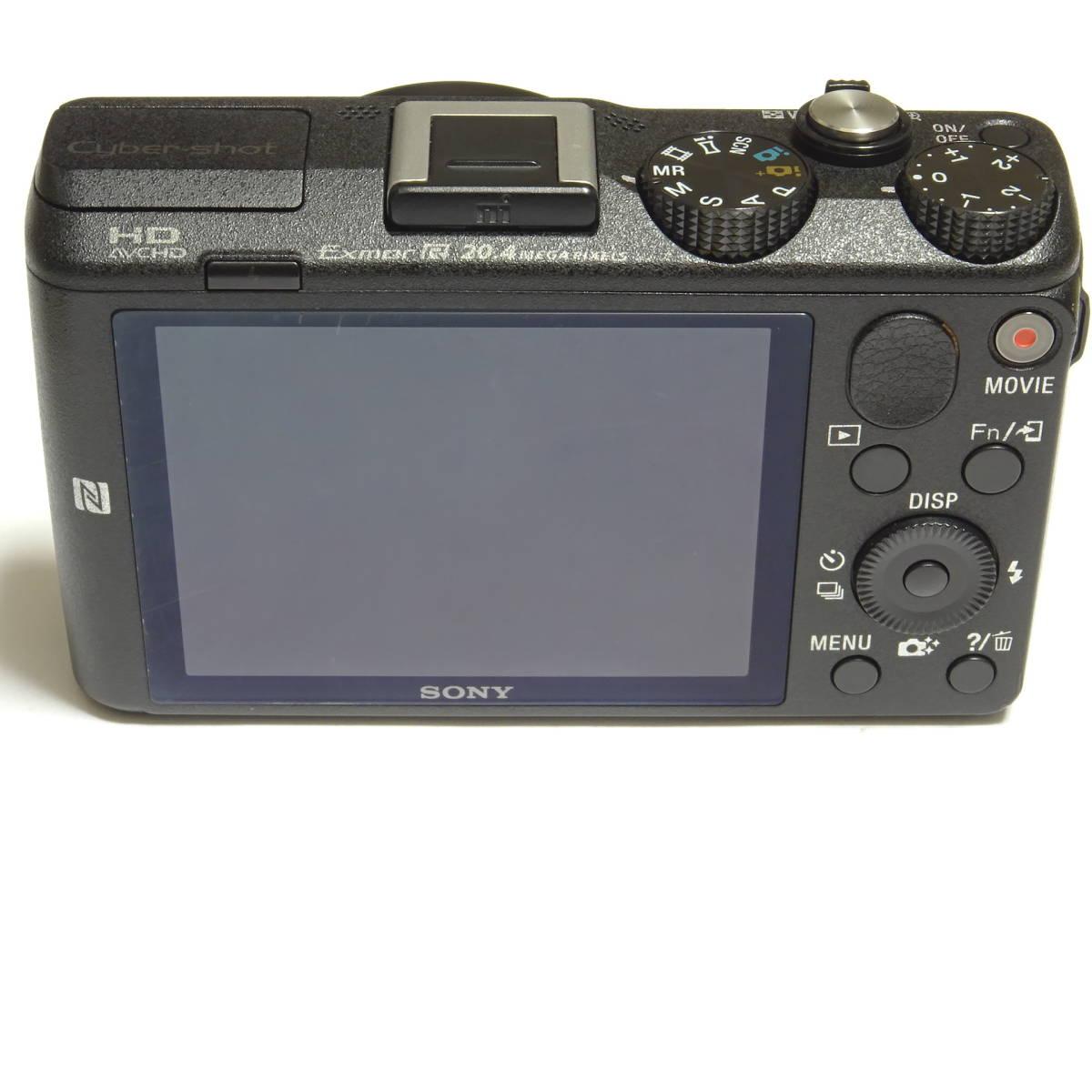 SONY Cyber-shot DSC-HX60V 2040万画素 光学30倍 Full HD 1080 60p 動画撮影 GPS Wi-Fi NFC 中古本体・箱・取説付き ☆動作品☆ 0899_画像4