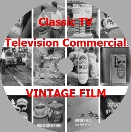 50sアメリカテレビコマーシャル集USAビンテージビンテージヴィンテージイラレTVCM動画歴史フェイスブックインスタグラムphotoshop資料