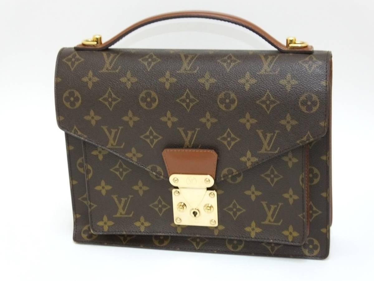 Louis Vuitton ルイヴィトン モンソー ハンドバッグ M51185 モノグラム