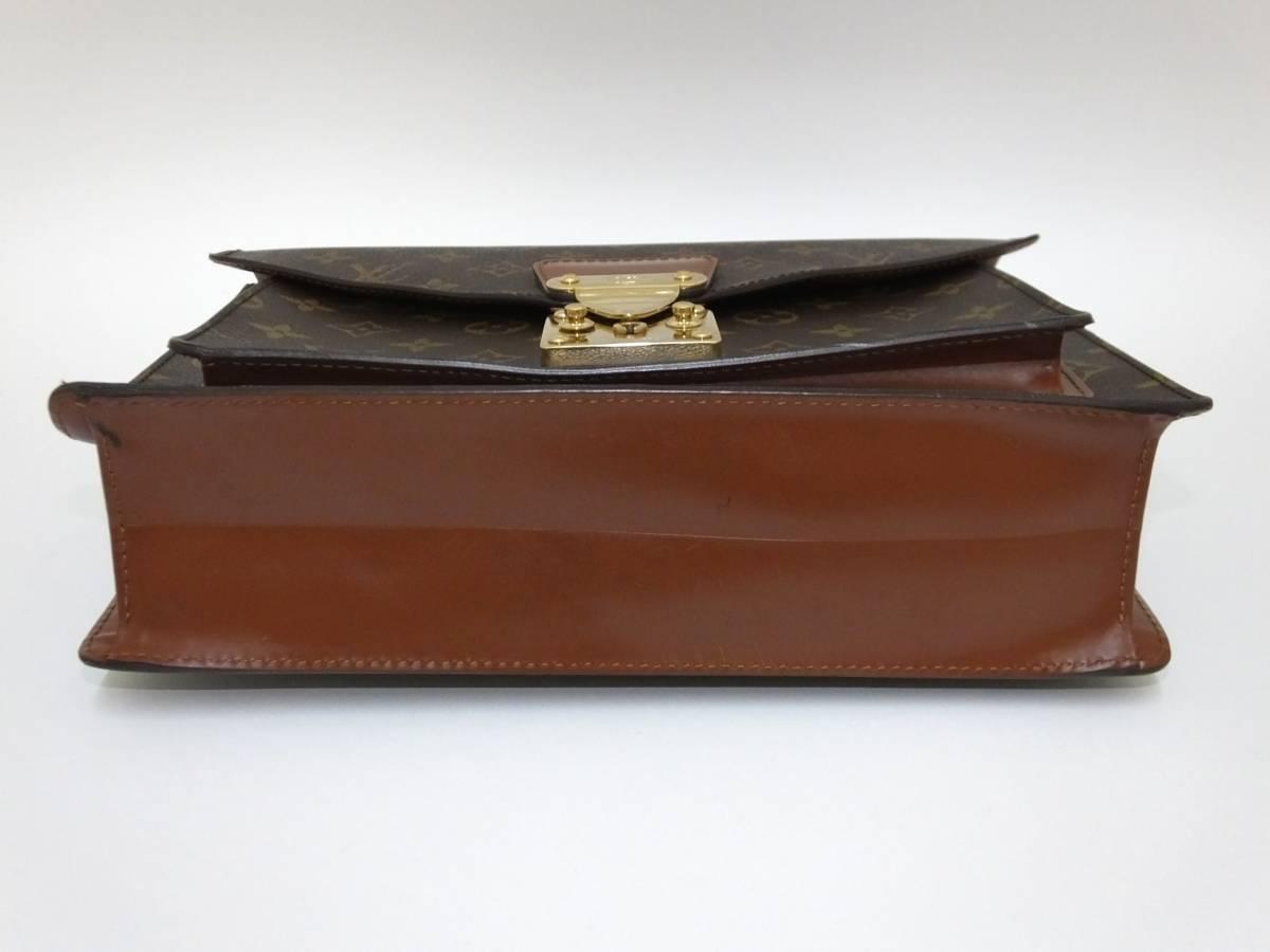 Louis Vuitton ルイヴィトン モンソー ハンドバッグ M51185 モノグラム_画像5