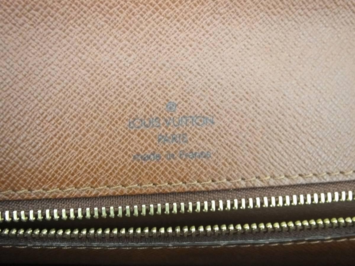 Louis Vuitton ルイヴィトン モンソー ハンドバッグ M51185 モノグラム_画像6