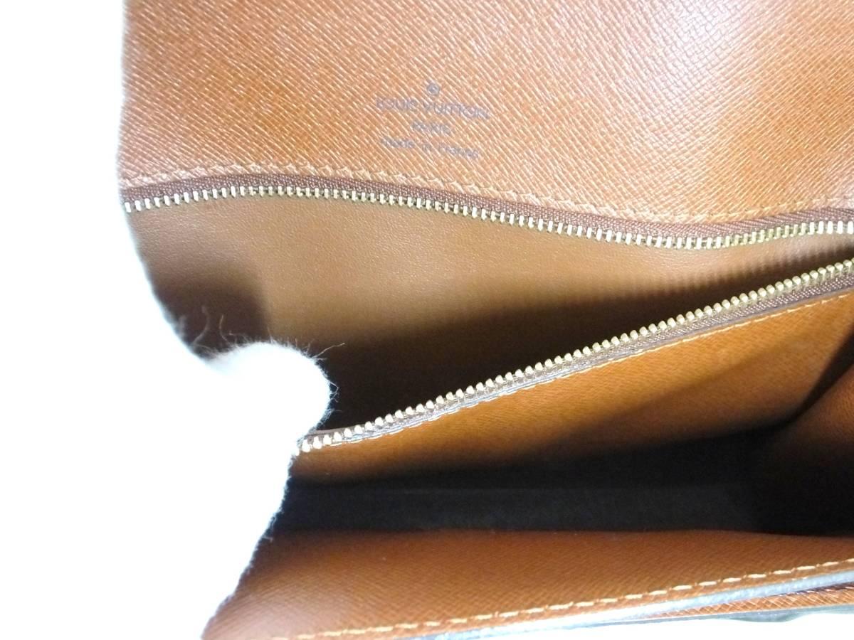 Louis Vuitton ルイヴィトン モンソー ハンドバッグ M51185 モノグラム_画像8