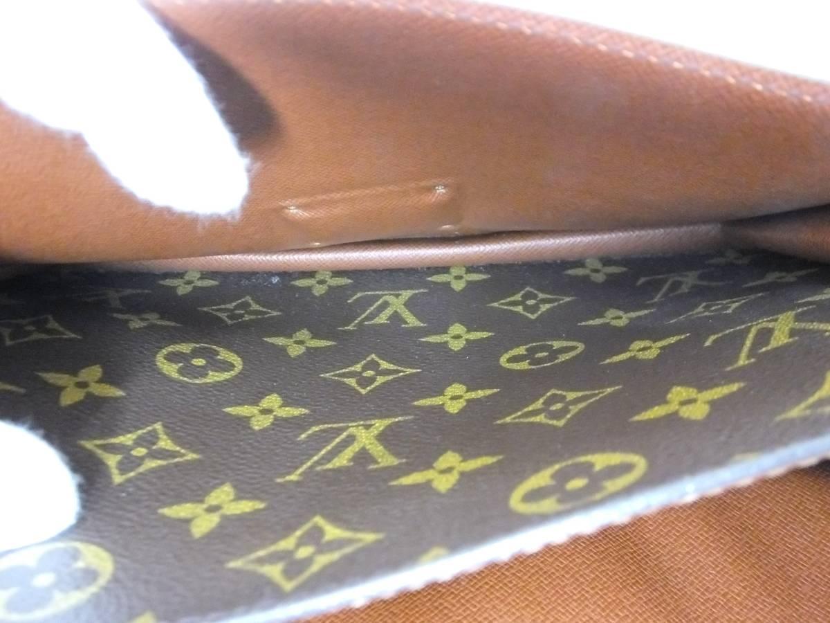 Louis Vuitton ルイヴィトン モンソー ハンドバッグ M51185 モノグラム_画像9