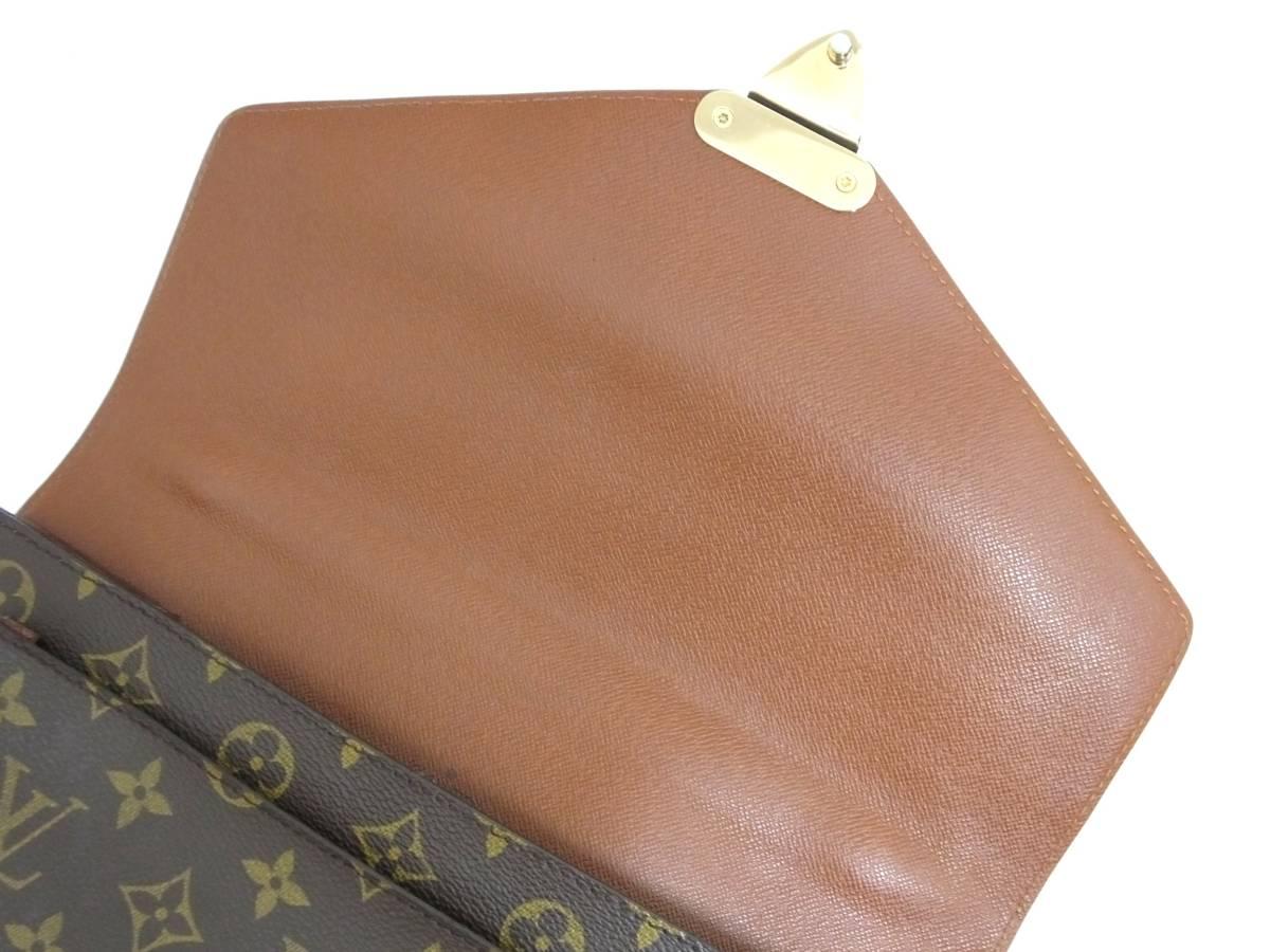 Louis Vuitton ルイヴィトン モンソー ハンドバッグ M51185 モノグラム_画像10