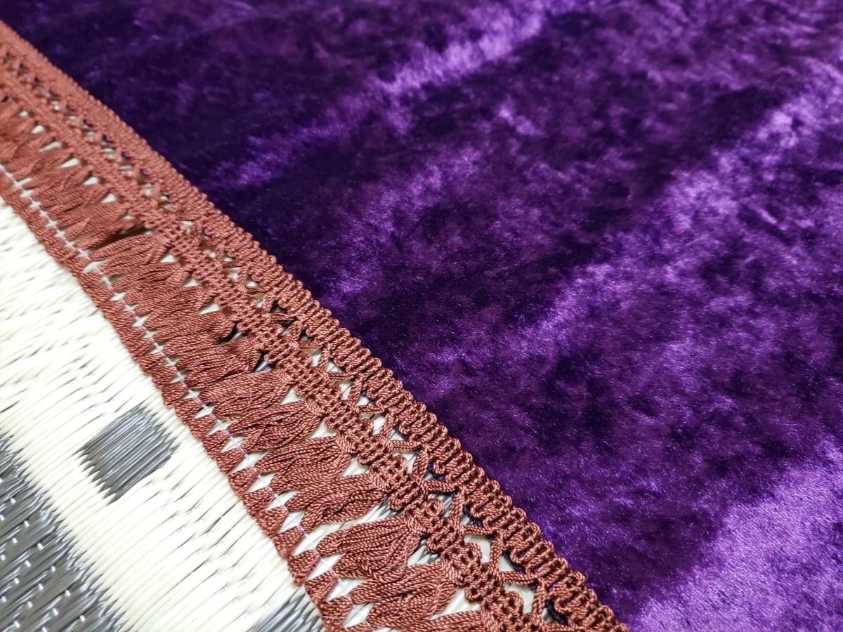 チンチラ ダッシュマット (紫) GX71 GX81 GZ10 GZ20 MX41MZ11 MS125 セドリック グロリア Y30 Y31 GX61 街道レーサー 暴走族 旧車會_画像3